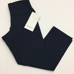 "Lululemon Wunder Under High Rise Crop 21"" F NWT"